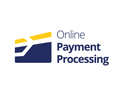 Online payment processing webdesign